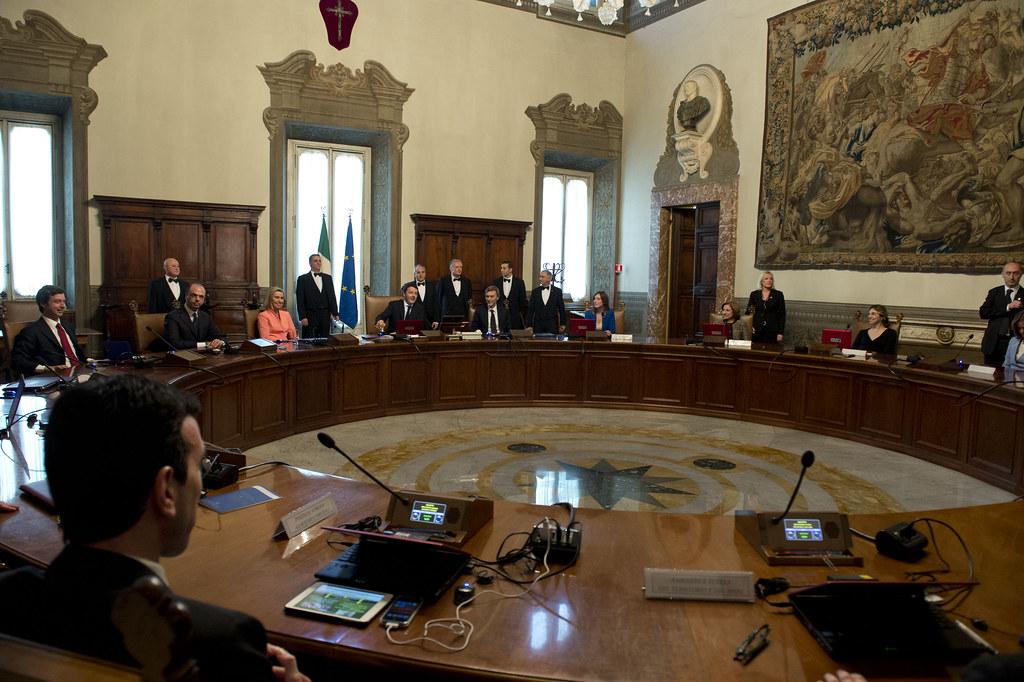 Consiglio dei Ministri n.1 | Palazzo Chigi, 22 febbraio ...