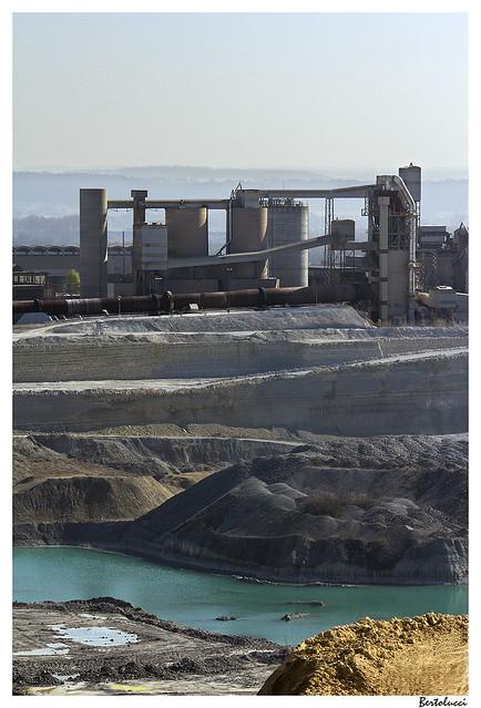 ENCI quarry & cement factory