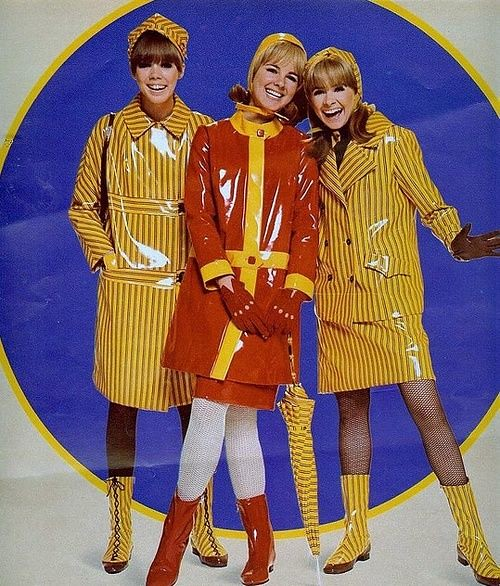 1960s vinyl outfits