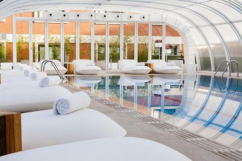 Fitness Center - Indoor Pool | by Madrid Marriott Auditorium