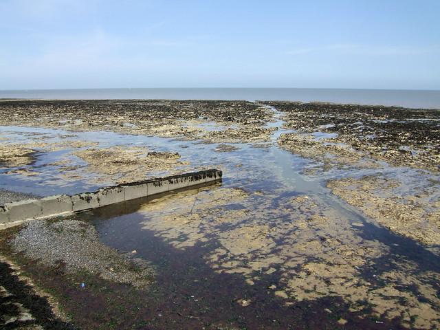 The coast at Birchington-on-Sea