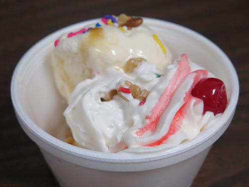 Ice cream social sundae