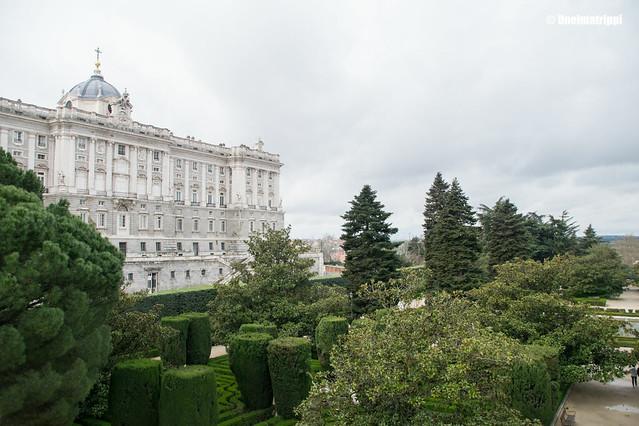 Madridin kuninkaallinen palatsi