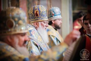 Литургия в Иверском монастыре 385