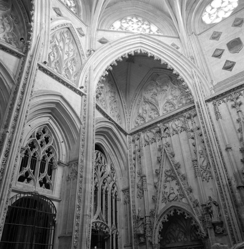 Capilla de Santiago de la Catedral de Toledo en los años 50. Fotografía de Nicolás Muller  © Archivo Regional de la Comunidad de Madrid, fondo fotográfico