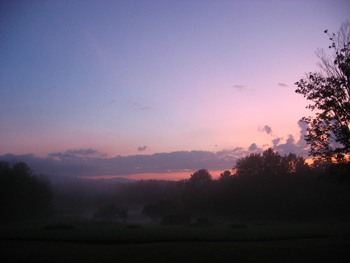 morning pink misty clouds sunrise ma us colorful unitedstates nubes pittsfield taconics berkshirecounty