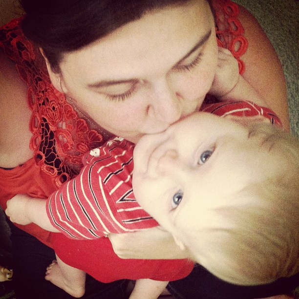 He may not always want mama hugs and kisses, or for me to hold him rather than explore and play, but these little moments when he seeks me out are ones I will never forget <3