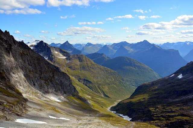 Urkedalen valley from above