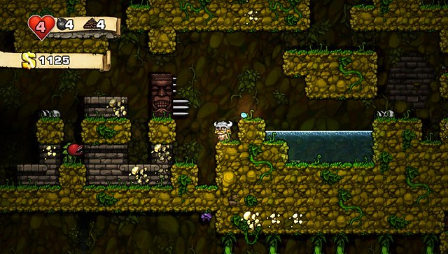Spelunky on PS Vita and PS3