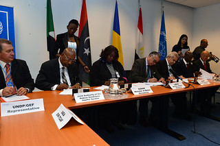 Signing of the Strategic Action Plan (01113660)