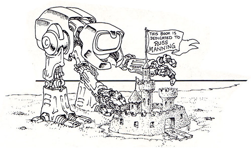 """The Original """"FUGITOID #1"""" iv // """"RUSS MANNING"""" dedication robot by Laird  (( 1985 )) by tOkKa"""