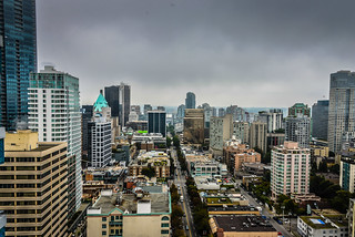 View from Blue Horizon Hotel Vancouver British Columbia Canada | by mbell1975