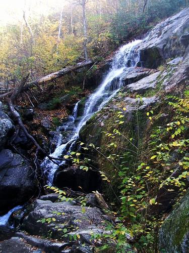 autumn trees virginia waterfall crabtreefalls 2013