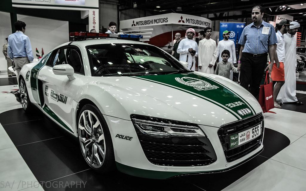 Dubai Police Audi R8 V10 Dubai International Motor Show D Flickr