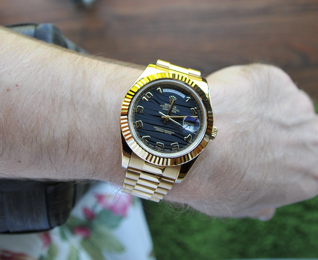 Rolex Daydate Ii Watch Guide Flickr