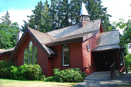 Anglican Church of St John the Baptist, Cobble Hill, Cowichan Valley, Vancouver Island, British Columbia