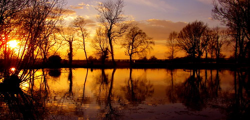 uk sunset england reflections spring allrightsreserved pickering keldhead pellison petefreeman