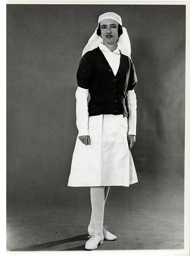 Dental Nurse fashion, 1940s | by Archives New Zealand