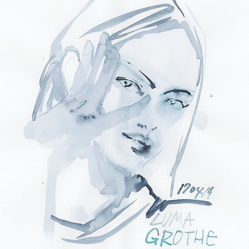 Drawing no.170419-01 @thelumagrothe #LumaGrothe #watercolor #illustration #illustrator #drawing #fashion #fashionillustrationsketch #fashionista #fashionillustrations #fashionillustrator #Japan #tokyoillustrator #beauty #beautyillustration #fashionsketc | by loopool
