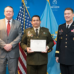 Fri, 04/07/2017 - 14:31 - On April 7, 2017, the William J. Perry Center for Hemispheric Defense Studies hosted a graduation for its Defense Policy and Complex Threats program in Lincoln Hall at Fort McNair in Washington, DC.