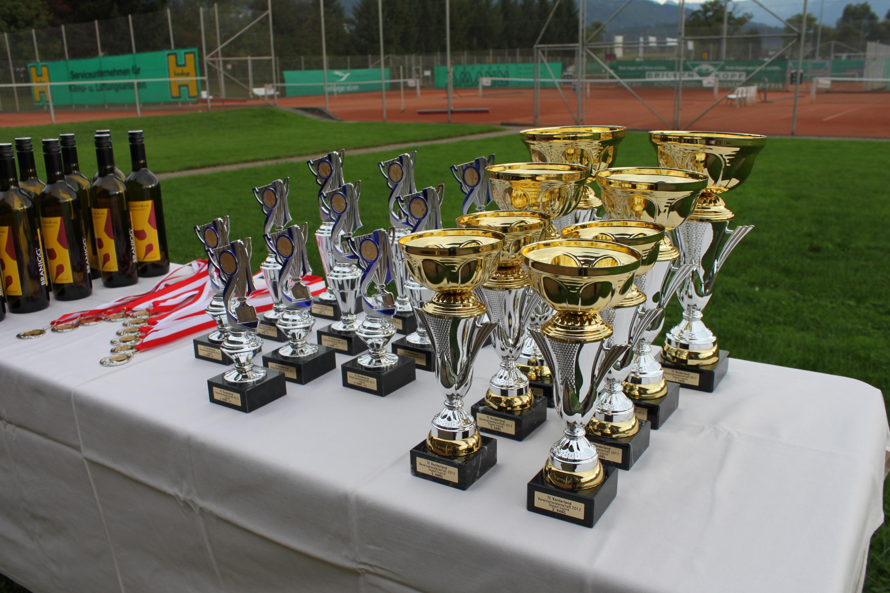 Siegerehrung VM 2012