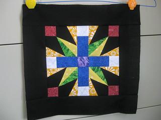 Schoenrock cross bee block