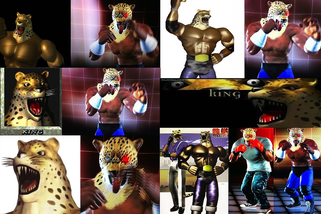 Armor King Ii Customized As King I In Ttt2 You Could Also Flickr