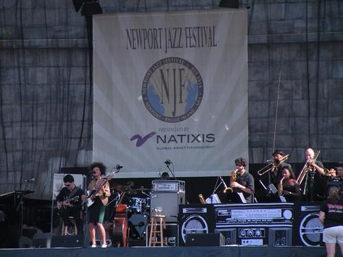 Esperanza Spalding's Radio Music Society - Newport Jazz Festival 2013
