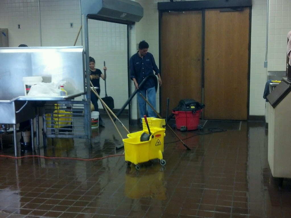 Cleaning Commercial Kitchen Cbm Cleaning A Commercial Kitc