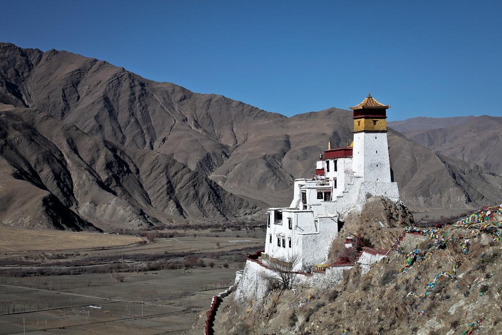 Monasteries in Tibet. Courtesy: Flickr