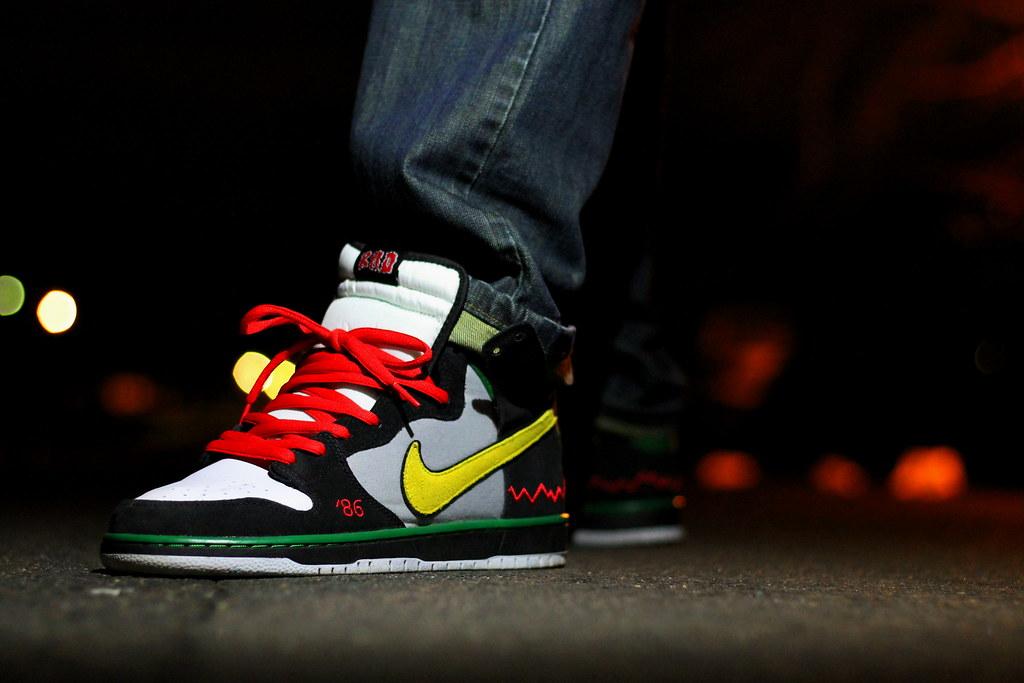 detailed look aafac 0c167 ... Nike Dunk SB McRad   by LG 703