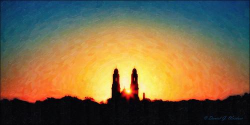 architecture sunrise landscape cathedral nik hdr photomatix eos5d snapart