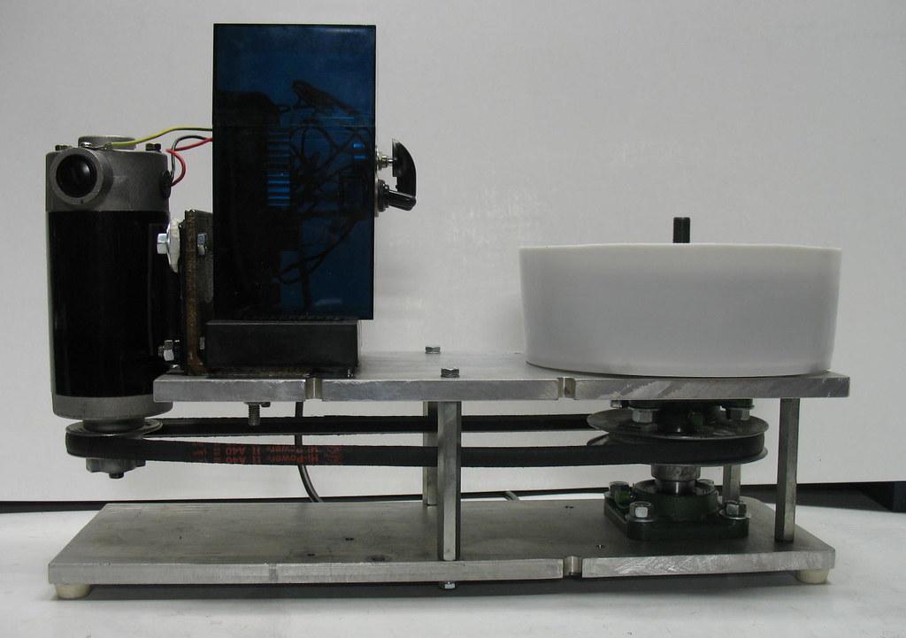 flat lap 1 | Homemade flat-lap machine using a DC treadmill