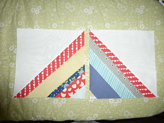 March '14 block for Chris (quilting newBEES)