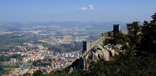 Castle of the Moors at Sintra Portugal | by Terry Kearney