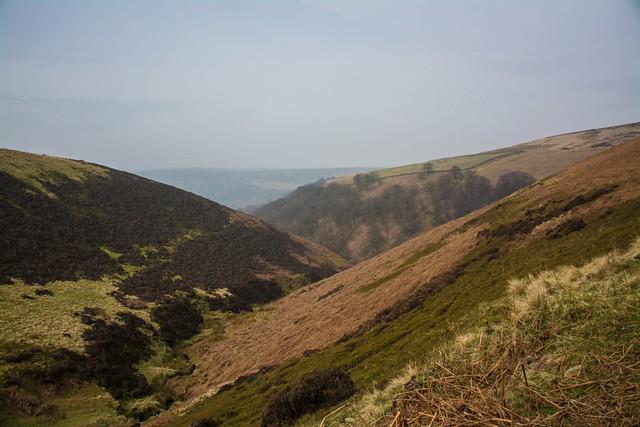 Above derwent reservoir....