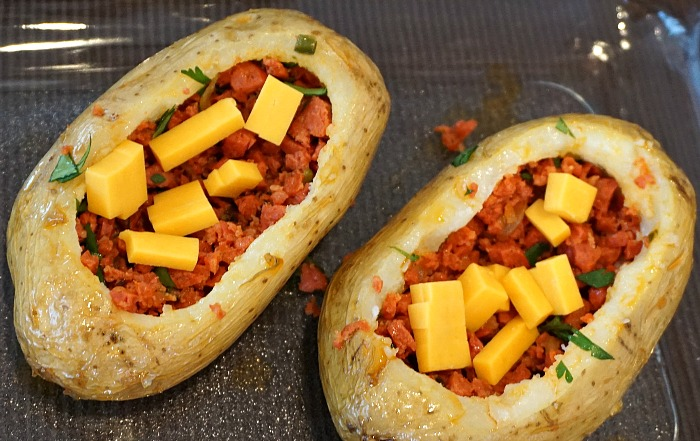 Chorizo and Cheese Stuffing