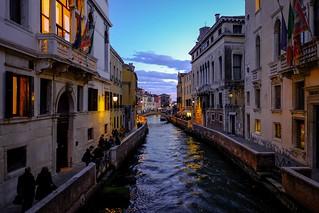 Ultime luci del giorno a Venezia
