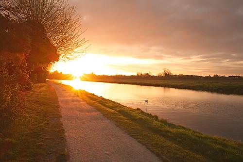cambridge sunrise