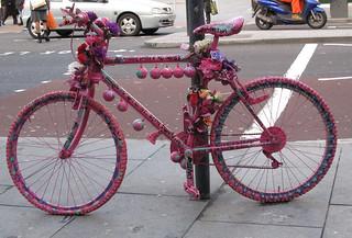 Pink bike Brixton 22-3-10