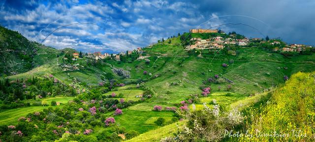 Φανάρι Καρδίτσας Fanari Karditsa panorama