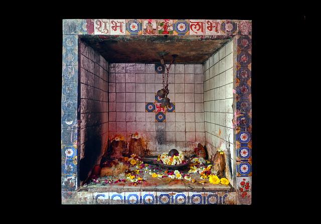 India - Uttar Pradesh - Mathura - Kesava Deo Temple - Shiva Lingam - 27d