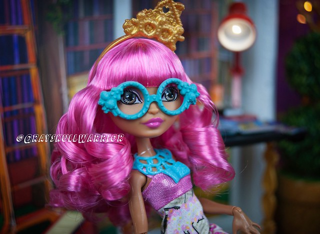 Book Party Ginger. Now with custom glasses. #gingerbreadhouse #everafterhigh #bookparty