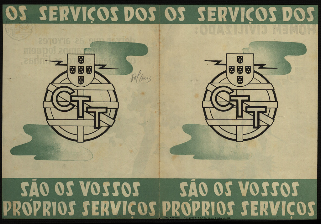 Os serviços do C.T.T. são os vossos próprios serviços (F.P.C, s.d.)