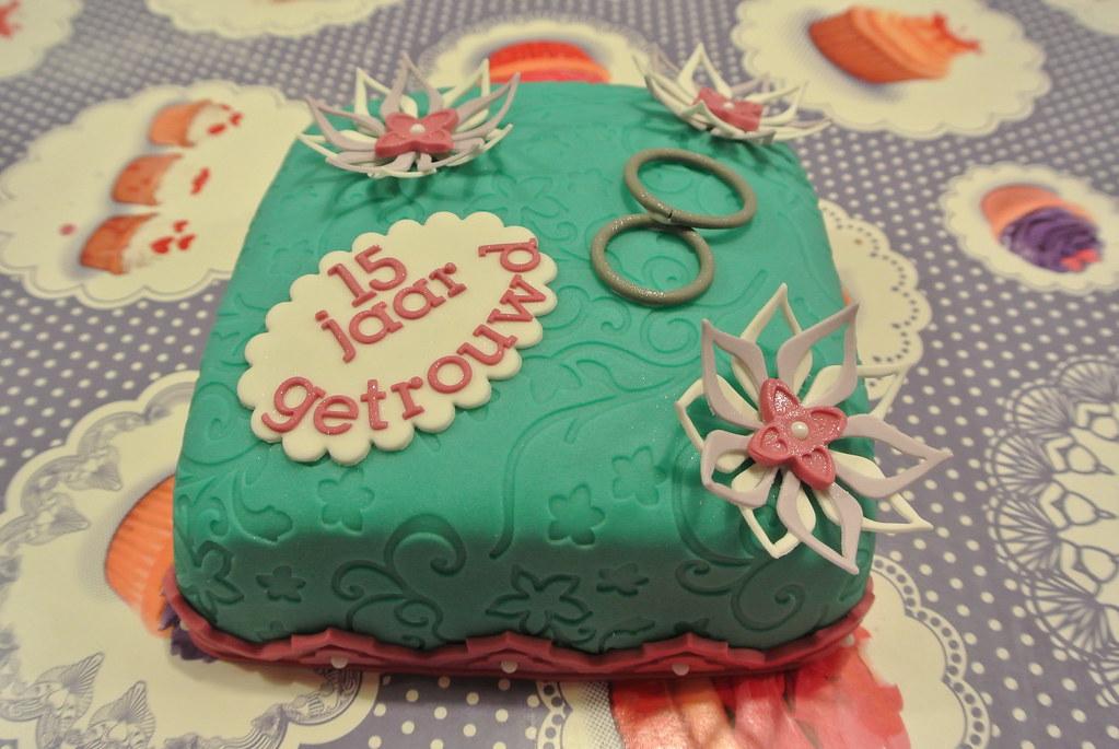 Wonderlijk taart 15 jaar getrouwd | TaartenOpTexel | Flickr BS-47