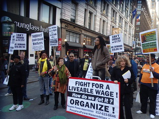 NYC Rally To Raise The Minimum Wage | by The All-Nite Images
