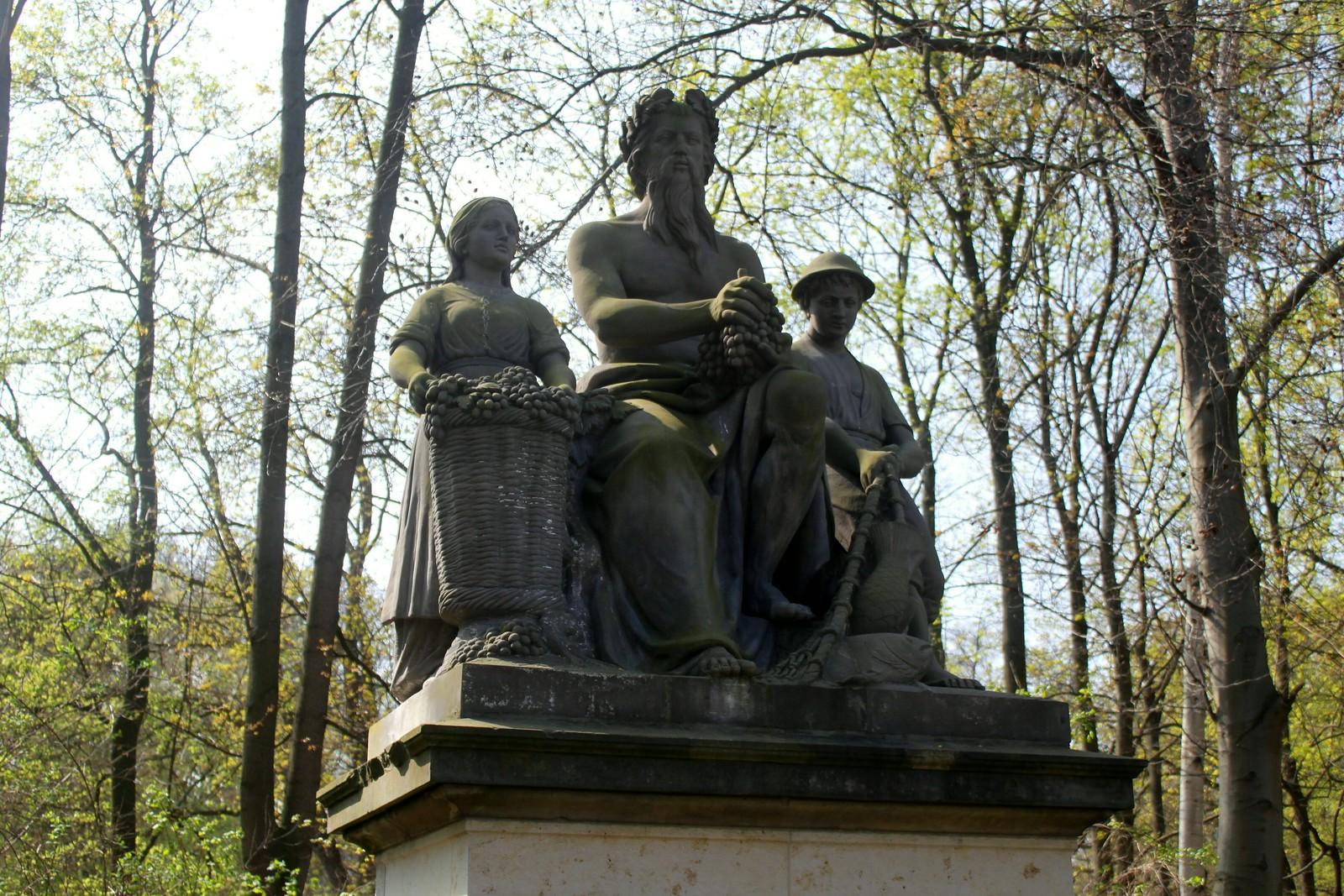 """""""Der Rhein"""" im Berliner Tiergarten"""