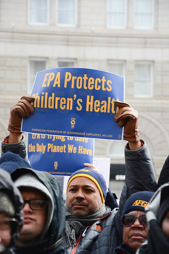 Stand Up For the EPA Rally - Washington, D.C. | by AFGE