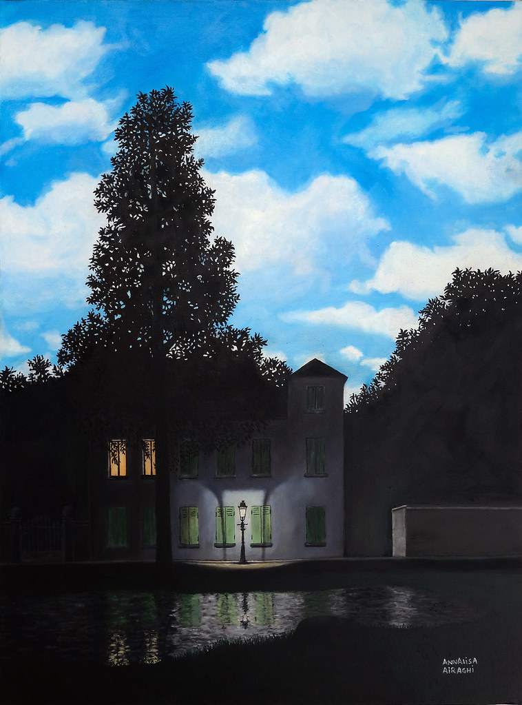 L Impero Delle Luci Magritte.Opere Allievi A Airaghi L Impero Delle Luci Magritte O