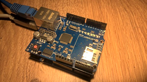 arduino ethernet shield | by eprojectszone
